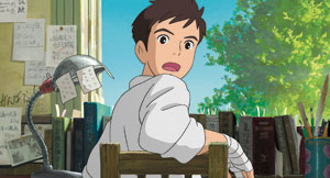 "A scene from the animated film, ""From Up on Poppy Hill."" Chizuru Takahashi photos"