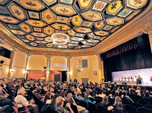 The Santa Barbara International Film Festival hosted discussion panels Saturday at the Lobero Theatre.