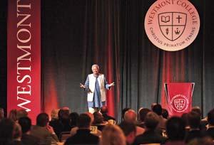 Muhammad Yunus addresses Westmont College President's Breakfast Friday.STEVE MALONE/NEWS-PRESS PHOTOS