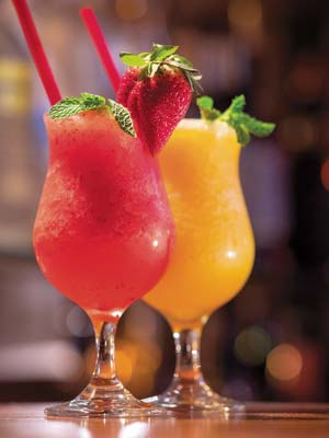 Strawberry or Mango Blended Margarita
