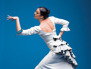 Flamenco dancer Savannah Fuentes