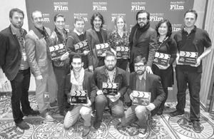 The Santa Barbara International Film Festival announced its award-winning films and honored the filmmakers Saturday at Fess Parker's Doubletree Resort.NIK BLASKOVICH/NEWS-PRESS PHOTO