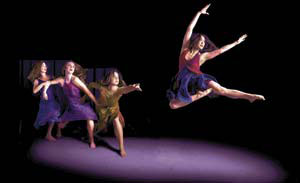 """Sand Into Glass"" is performed by Nebula Dance Lab."