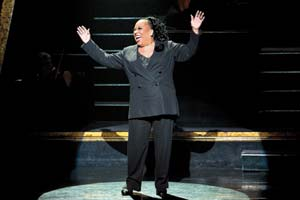 "Roz Ryan stars as Matron ""Mama"" Morton in the Tony Award-winning hit musical ""Chicago."""