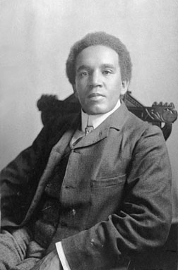 British composer Samuel Coleridge-Taylor. Courtesy photos