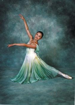 Dancer Makala Hieshima plays the part of Clara. Caprice Studios Photo
