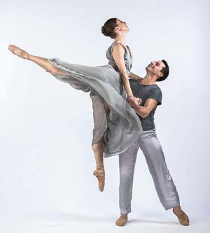 Leila Drake and Ryan Camou are both with State Street Ballet.