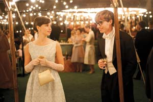 "Both Mr. Redmayne and his co-star, Felicity Jones, have earned Oscar nominations for their roles in ""The Theory of Everything."""