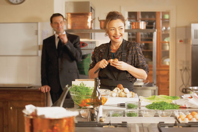 "Catherine Frot stars as Hortense Laborie who has been requested to cook for the President in ""Haute Cuisine Anouchka de Williencourt photo"