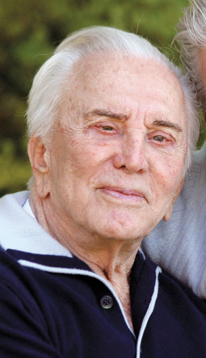 Kirk Douglas COURTESY PHOTO