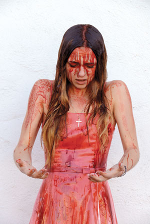 "Julia Kupiec as Carrie White in the musical, ""Carrie."" Peter Bertling photo"
