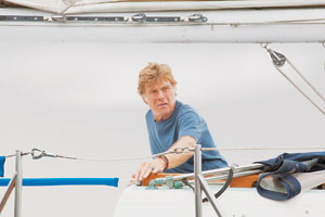 "Robert Redford, shown here in ""All Is Lost,"" will receive the Santa Barbara International Film Festival's American Riviera Award in February. ASSOCIATED PRESS"