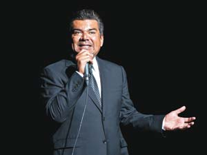 Comedian, actor and talk show host George Lopez performed his stand-up comedy June 27 at The Fox Theatre in Atlanta, Ga. Dan Harr photo