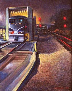 """Amtrak Bath"" 'THomas Van Stein Brad Nack"