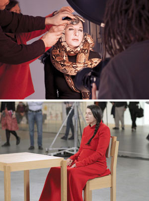 Marina Abramovic Show ofForce photo