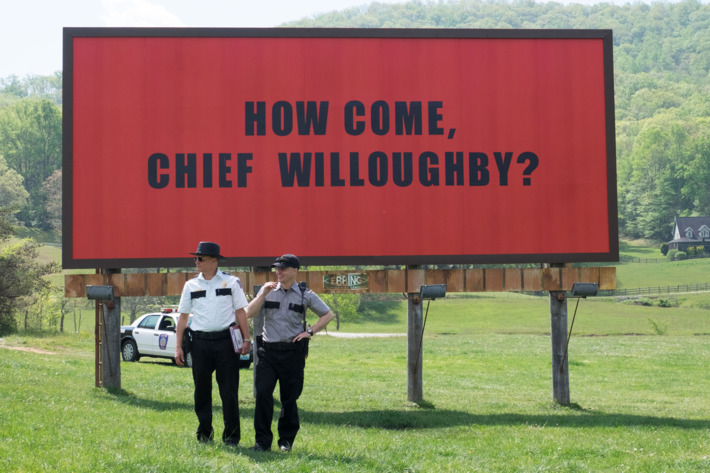 Three Billboards Outside Ebbing, Missouri, 2017 – ★★★★½